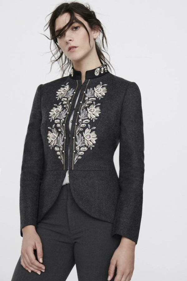 blazer kate grey