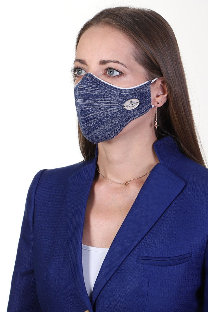 Mask Marble Navy