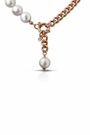 Pearls Neklace Mia Rose Gold