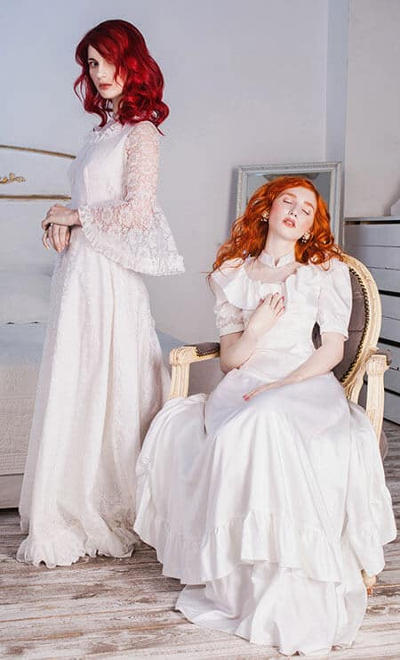 edwardian-era dresses