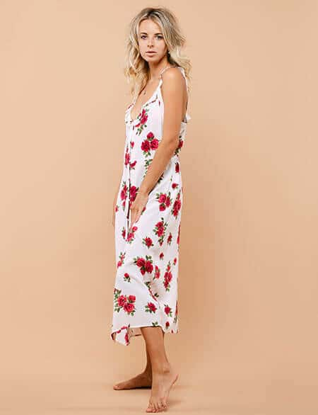 summer sundress tea or knee-length