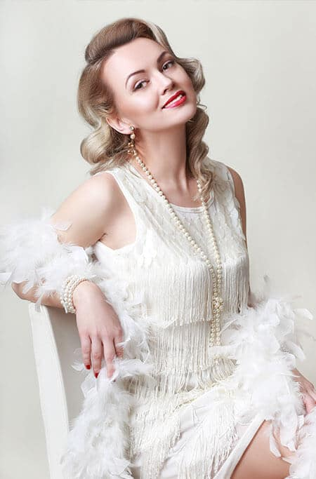 roaring 20s women dress