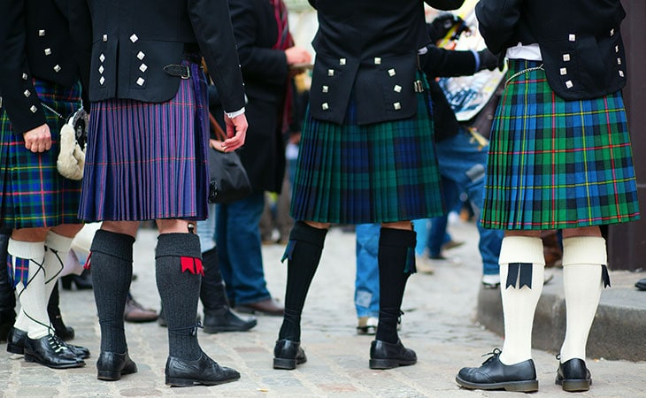 scotland kilt skirt