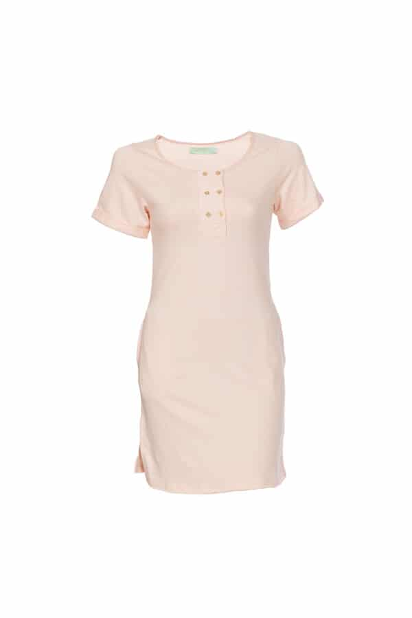 salmon atenea dress 1